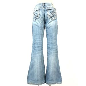 Silver suki mid flare jeans 29x30